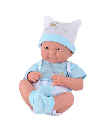 Elc cup cake newborn baby boy doll