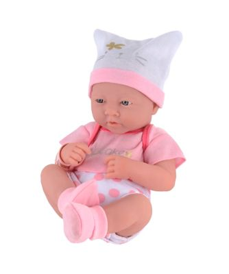 Elc cupcake newborn baby girl doll