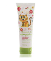 BabyGanics Toothpaste Strawberry - 113gr