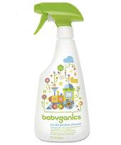 BabyGanics Toy & Highchair Cleaner Fragrance Free - 502ml