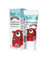 Buds Organics Toothpaste Xylitol - Strawberry (1-3 years)