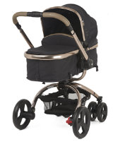 Mothercare Orb Pram and Pushchair - Liquorice Canvas