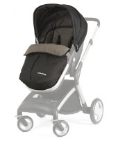 Mothercare Roam Four Wheel Travel System - Black