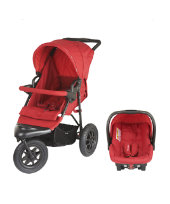 Mothercare Xtreme Pushchair Travel System - Red