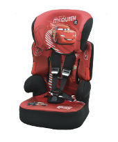 Disney Cars Beline SP Highback Booster Car Seat With Harness