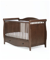 Mothercare Bloomsbury Cotbed - Walnut