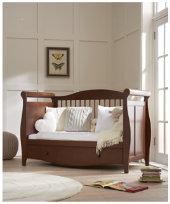 BUNDLE: €1499 Mothercare Bloomsbury Cotbed + Changing Unit + Wardrob - Walnut