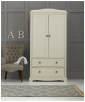 Mothercare Bloomsbury Wardrobe - Ivory