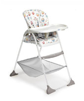 Joie Mimzy Snacker Highchair - Owls