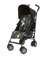 Mothercare Nanu Stroller- Geo Liquorice