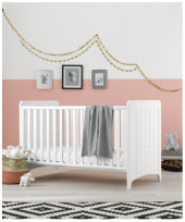 Mothercare Camberley Cot Bed - White