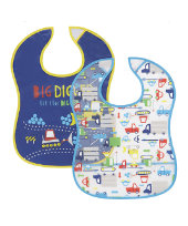 Transport Crumbcatcher Bibs- 2 Pack