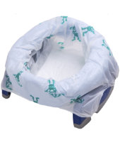 Potette Plus Fold Away Travel Potty and Trainer - Blue