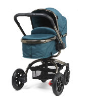 mothercare orb all terrain pram and pushchair - teal