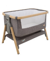 Tutti Bambini CoZee® bedside crib - charcoal *exclusive to mothercare*