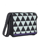 Lassig Casual Messenger Bag - Triangle Black