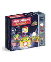 Magformers Neon Led Set (31-pieces)
