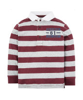 burgundy rugby top