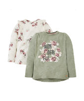 wonderful floral t-shirts - 2 pack