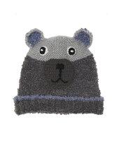 grey bear beanie