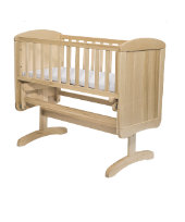 Mothercare Deluxe Gliding Crib - Natural