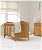 Mothercare Darlington Cot Bed - Antique