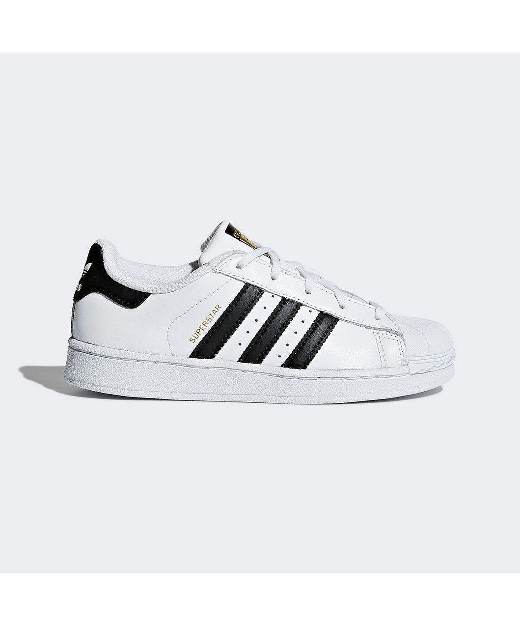 separation shoes 7faca 6d27c adidas Superstar Foundation Kids Shoes - Black White