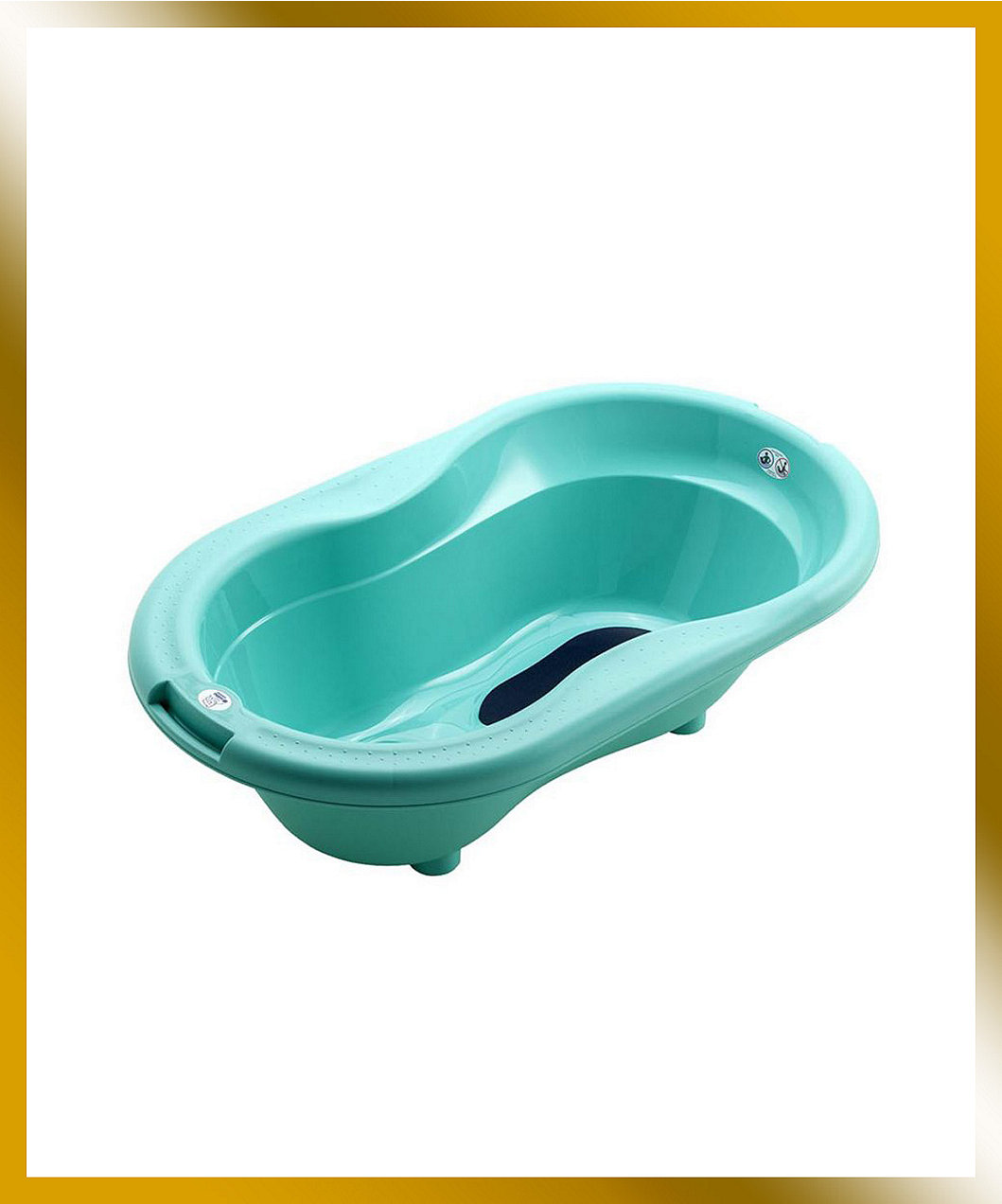 Rotho Bath Tub Curacao Blue | Mothercare Indonesia