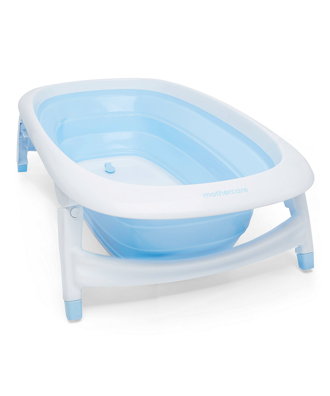 Foldable Baby Bath Blue | Mothercare