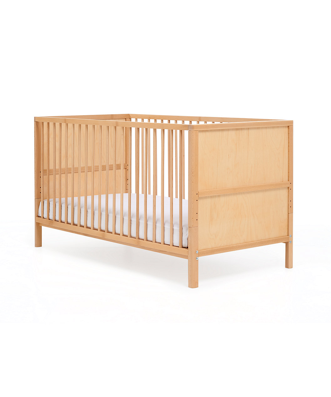 Mothercare Balham Cot Bed Beech Loading Zoom