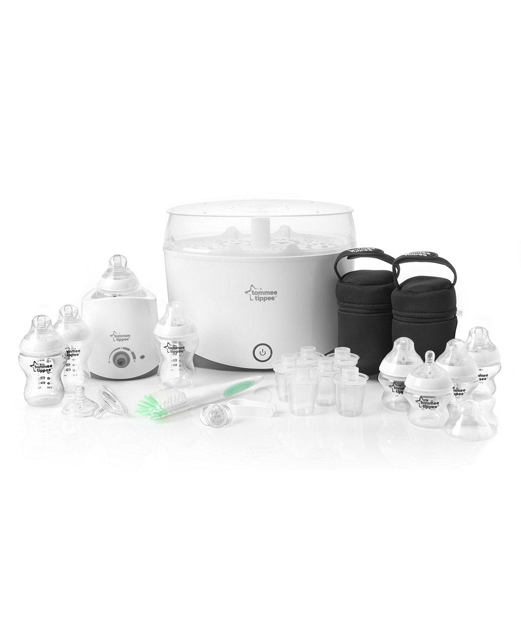 Tommee Tippee Feeding And Sterilisation Set