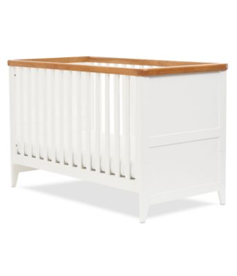 Mothercare Summer Oak Cot Bed White # Muebles Tadel Grup