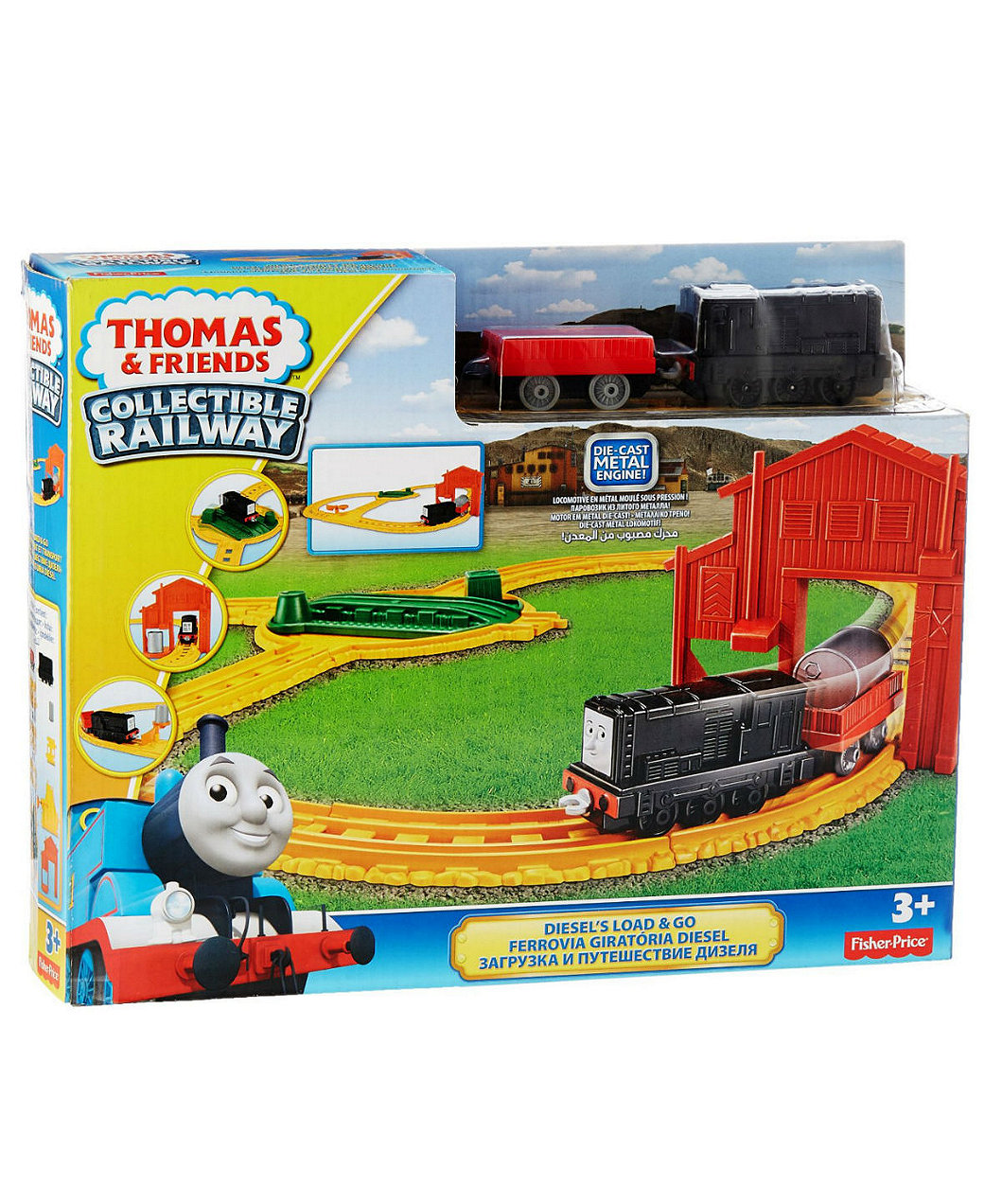 Thomas & Friends Collectible Railway Diesel\'s Load and Go - Multi ...