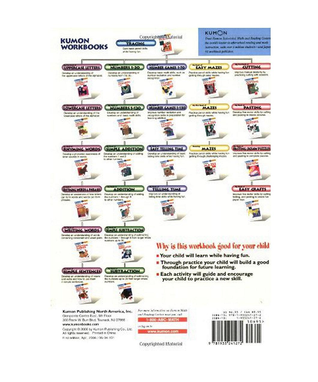 Workbooks buy kumon workbooks : Kumon Telling Time 5-6-7 | ELC Indonesia