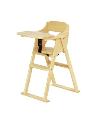 Yamatoya Nico Folding High Chair Natural Mothercare Indonesia # Muebles Tadel Grup