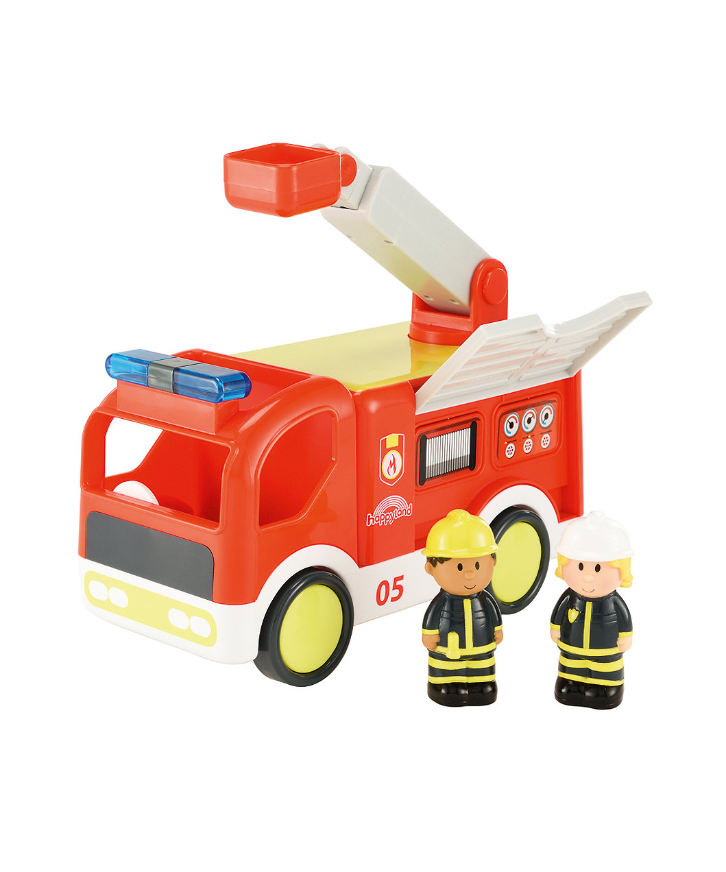 Happyland Lights And Sounds Fire Engine