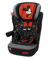 Disney Mickey Mouse IMax SP High Back Booster Car Seat with Harness