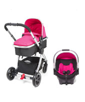 Mothercare Journey Chrome Travel System - Pink