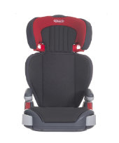 Graco Junior Maxi Highback Booster Car Seat - Pompeian Red