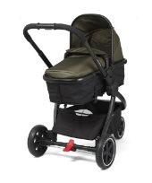 Mothercare 3 Wheel Journey Black Travel System - Khaki