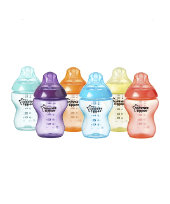 Tommee Tippee Closer to Nature Fiesta Bottles 260ml - 6 Pack