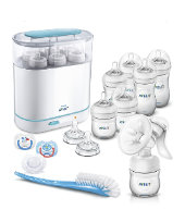 Philips Avent Complete Natural Starter Set - Clear *exclusive to Mothercare*