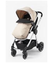 Mothercare 4-wheel Journey Chrome Travel System - Sand