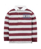 burgundy rugby top