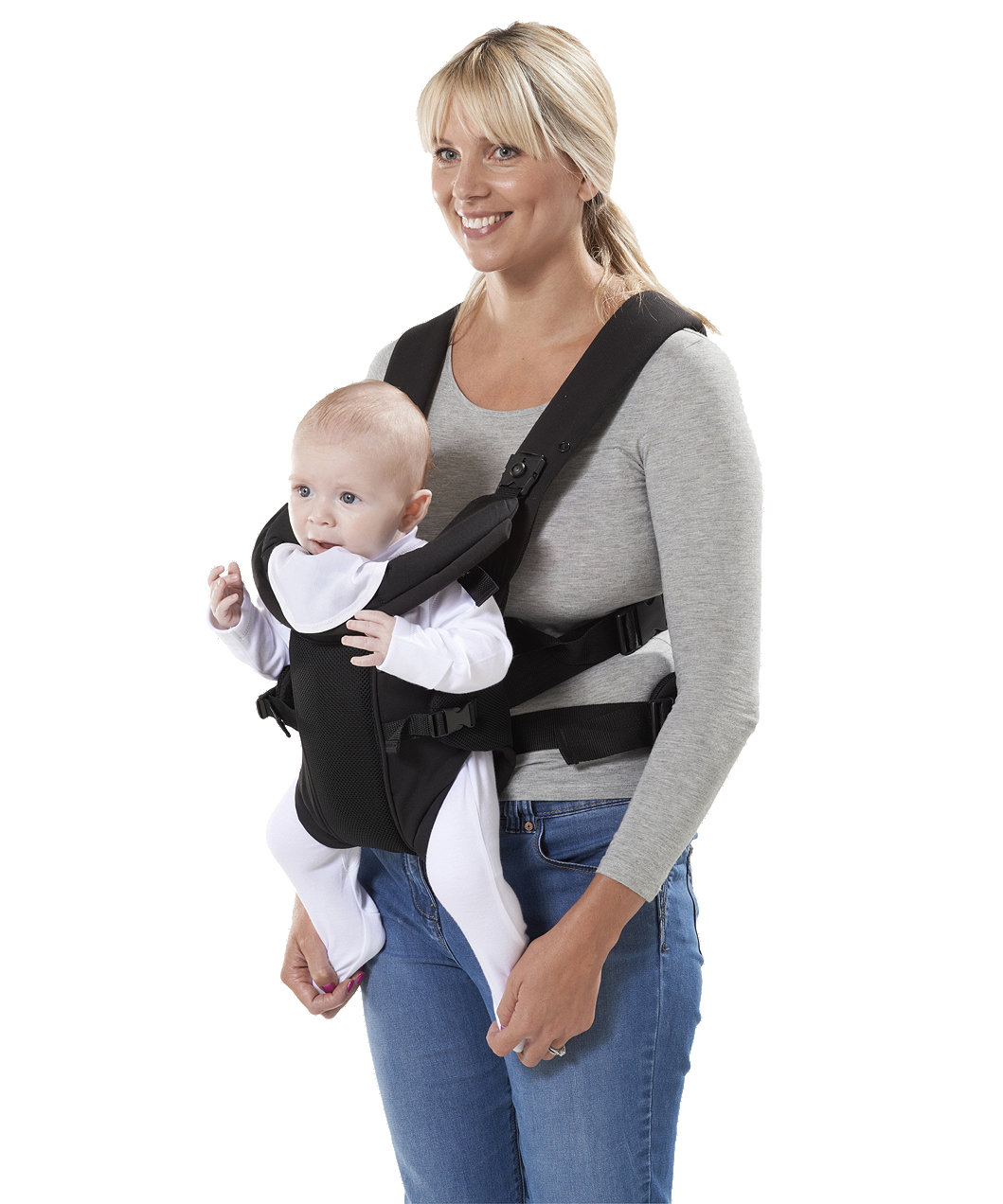 ed149a133d7 Mothercare Three Position Baby Carrier - Black