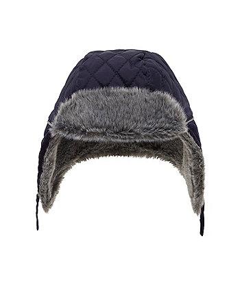 Стьобана шапка-вушанка