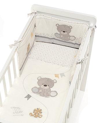 Teddy&#39s Toy Box набір для ліжечка-колиски
