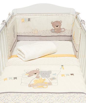 Набір для ліжечка TEDDYS TOY BOX