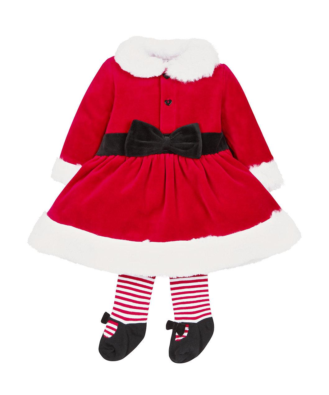 dc19247d9 Mrs Santa Dress Up and Tights