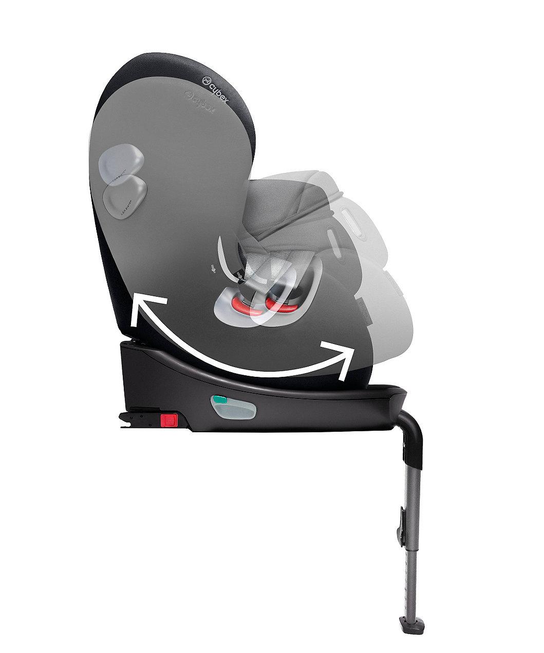 cybex sirona combination isofix car seat stardust black. Black Bedroom Furniture Sets. Home Design Ideas
